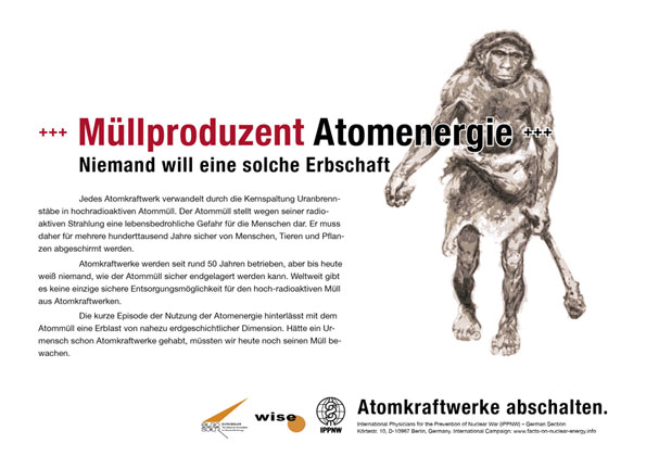 Müllproduzent Atomenergie